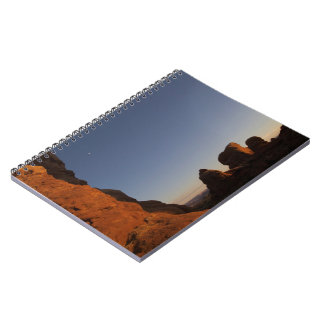 Arches National Park Sunset Notebook