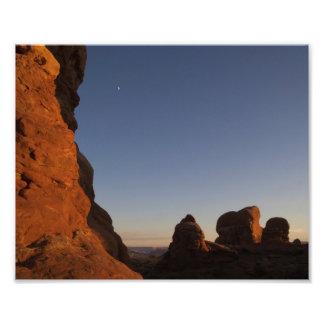 Arches National Park Sunset Photo Print