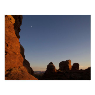 Arches National Park Sunset Postcard