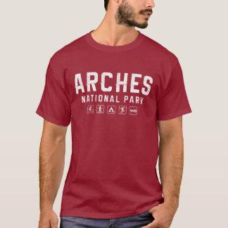 Arches National Park Tshirt (dark)