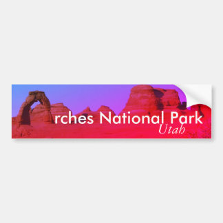 Arches National Park, Utah Bumper Sticker