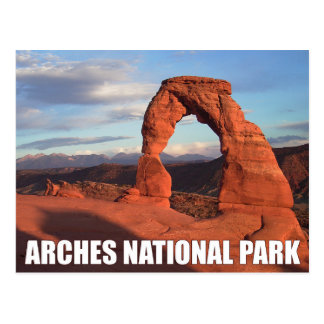 Arches National Park, Utah Delicate Arch Postcard
