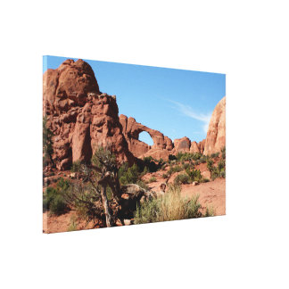 Arches National Park, Utah, USA Canvas Print