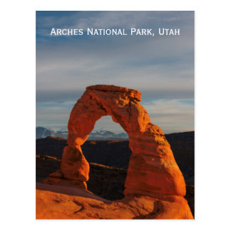 Arches National Park, Utah, USA Postcard