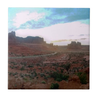 Arches National Park Viewpoint Ceramic Tiles