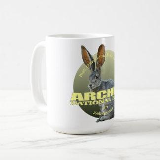 Arches NP (Jackrabbit) WT Coffee Mug
