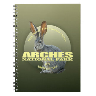 Arches NP (Jackrabbit) WT Notebook