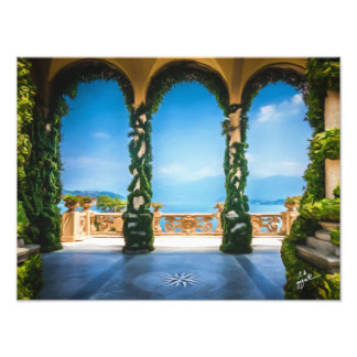 Arches of Italy Colorful Elegant Photo Art