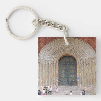 Arches of the Iglesia Cuenca Ecuador Keychain