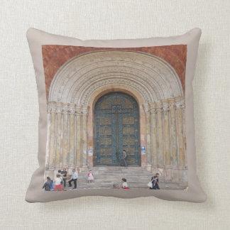 Arches of the Iglesia Cuenca Ecuador Throw Pillow