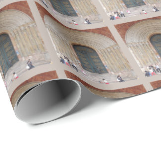 Arches of the Iglesia Cuenca Ecuador Wrapping Paper