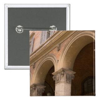 Arches, Venice, Italy 2 Inch Square Button