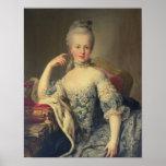 Archiduchesse Marie Antoinette Poster