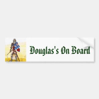 Archie3, Douglas's On Board Bumper Sticker