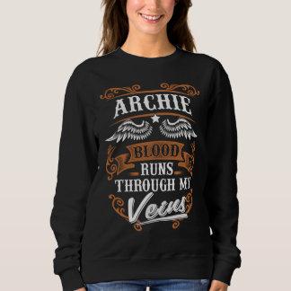 ARCHIE Blood Runs Through My Veius Sweatshirt