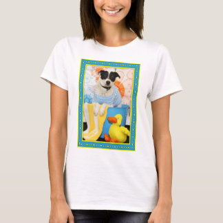 Archie - Jack Russell Rat Terrier Mix -6 T-Shirt