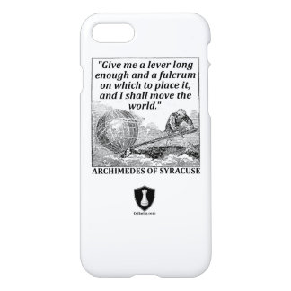 Archimedes Lever iPhone 8/7 Case