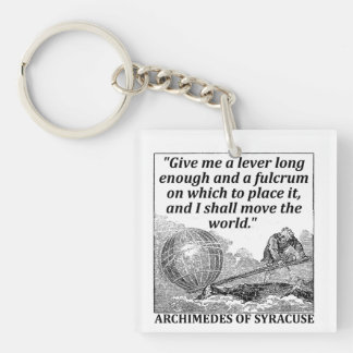Archimedes Lever Keychain