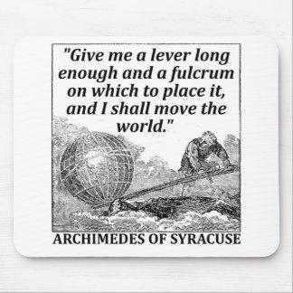 Archimedes Lever Mouse Pad