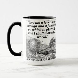 Archimedes Lever Mug