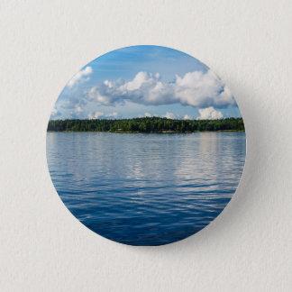 Archipelago on the Baltic Sea coast in Sweden 2 Inch Round Button