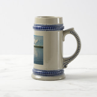 Archipelago on the Baltic Sea coast in Sweden Beer Stein