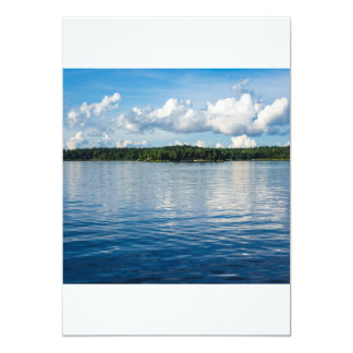 Archipelago on the Baltic Sea coast in Sweden Card