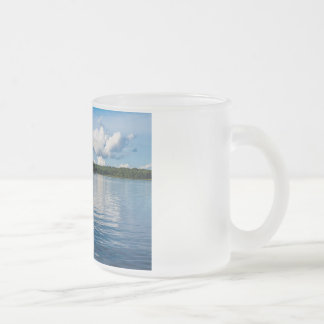Archipelago on the Baltic Sea coast in Sweden Frosted Glass Coffee Mug