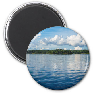 Archipelago on the Baltic Sea coast in Sweden Magnet