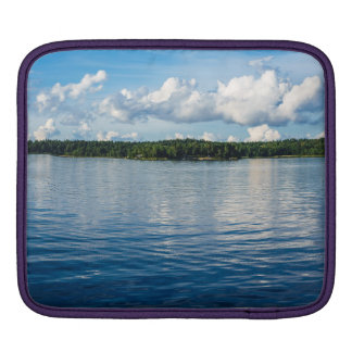 Archipelago on the Baltic Sea coast in Sweden Sleeves For iPads