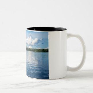 Archipelago on the Baltic Sea coast in Sweden Two-Tone Coffee Mug