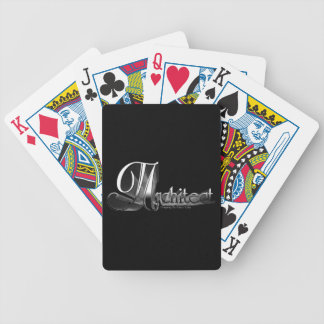 Architect Bicycle Playing Cards