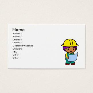 Architect Boy Business Card