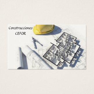 Architect - Constructor - Calling card
