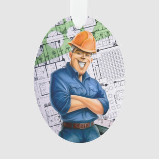 Architect / Contractor / Construction Worker... Ornament