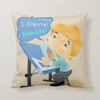 Architect Draftsman and Engineer Pillow