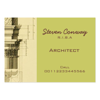 Architect Gothic Architecture Design Business Cards