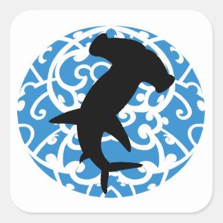 Architect of the Sea Square Sticker