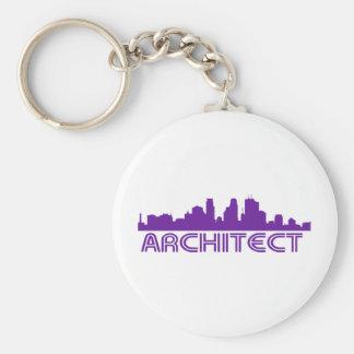 Architect Skyline design! Keychain