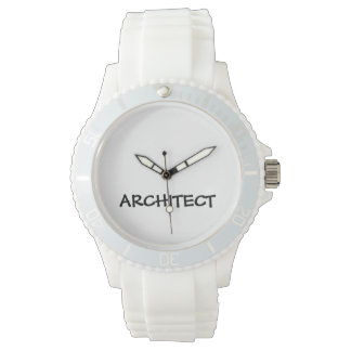 ARCHITECT Sporty White Silicone Watch