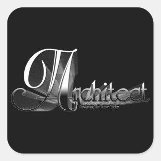 Architect Square Sticker