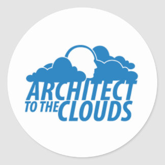 Architect to the Clouds - Sticker