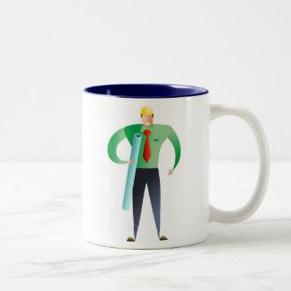 Architect Two-Tone Coffee Mug
