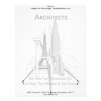 Architects Customized Letterhead