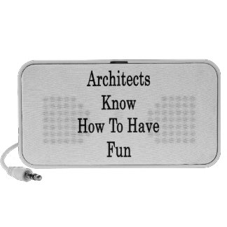 Architects Know How To Have Fun Travelling Speakers