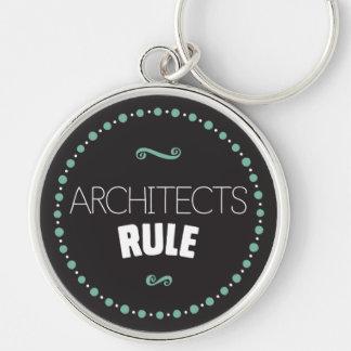 Architects Rule Keychain – Black