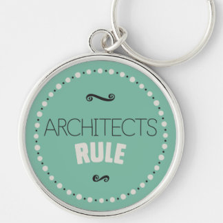 Architects Rule Keychain – Green