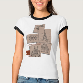 Architectual Quick Sketches T-Shirt