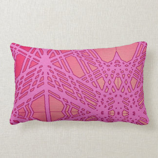 Architectural Abstract Design Lumbar Pillow