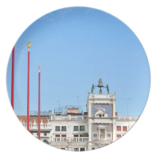Architectural detail in Venice, Italy Dinner Plate